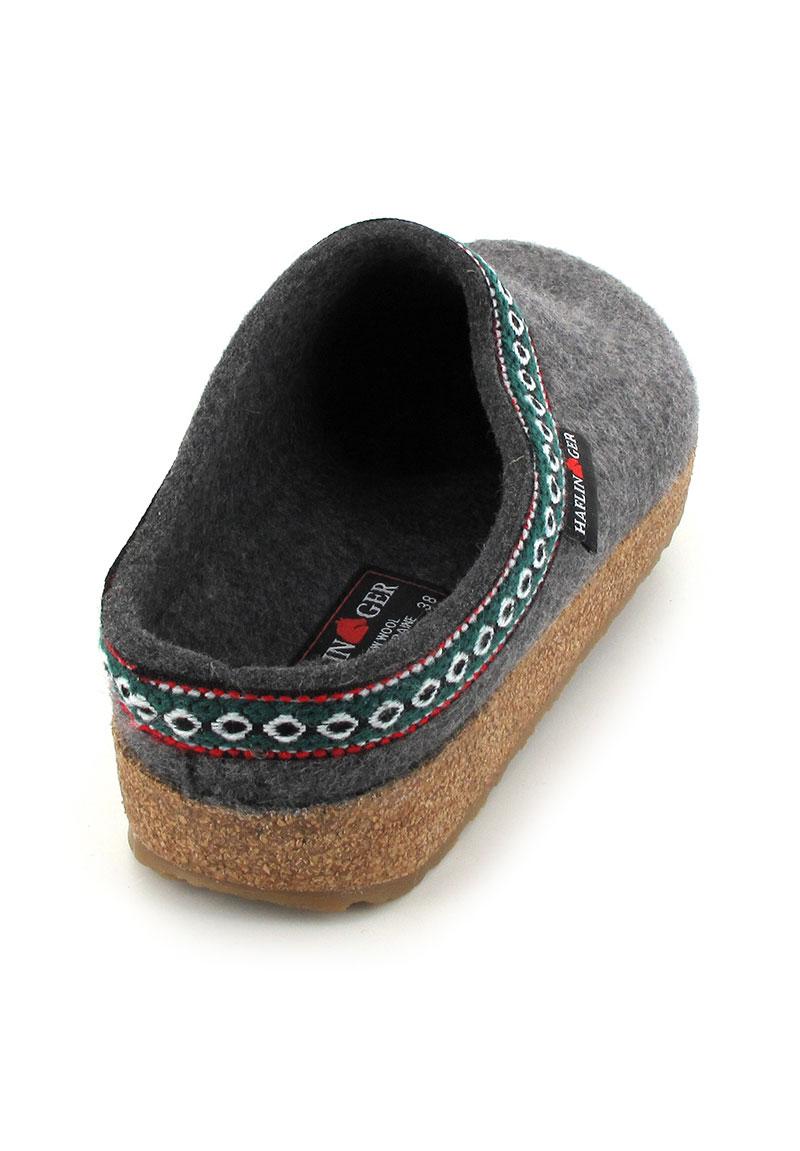 HAFLINGER GZ CLASSIC, Unisex Wool Felt Clogs from Germany ...
