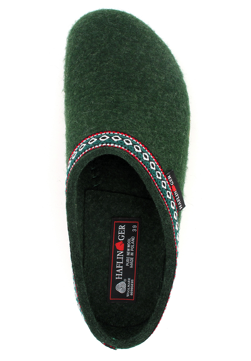 HAFLINGER GZ CLASSIC, Unisex Wool Felt Clogs from Germany ...