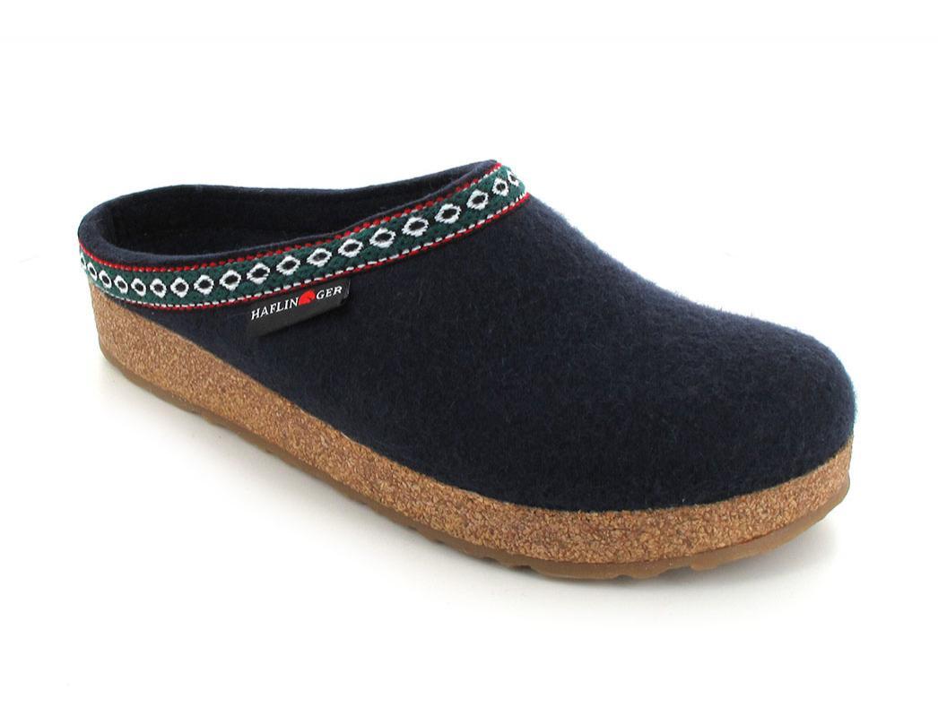 haflinger grizzly franzl hausschuhe filz pantoffeln pantoffeln gr 36 46 ebay. Black Bedroom Furniture Sets. Home Design Ideas