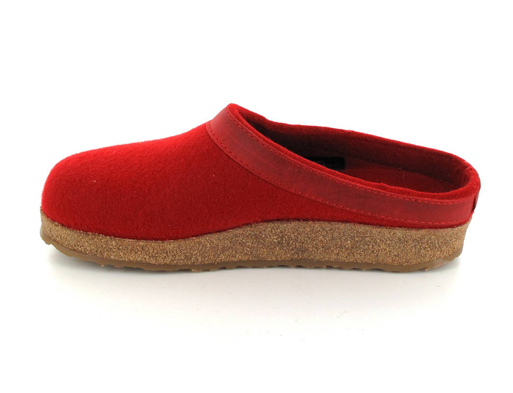 HAFLINGER GZL Clog, Grizzly Torben, Colorful Wool Slippers ...