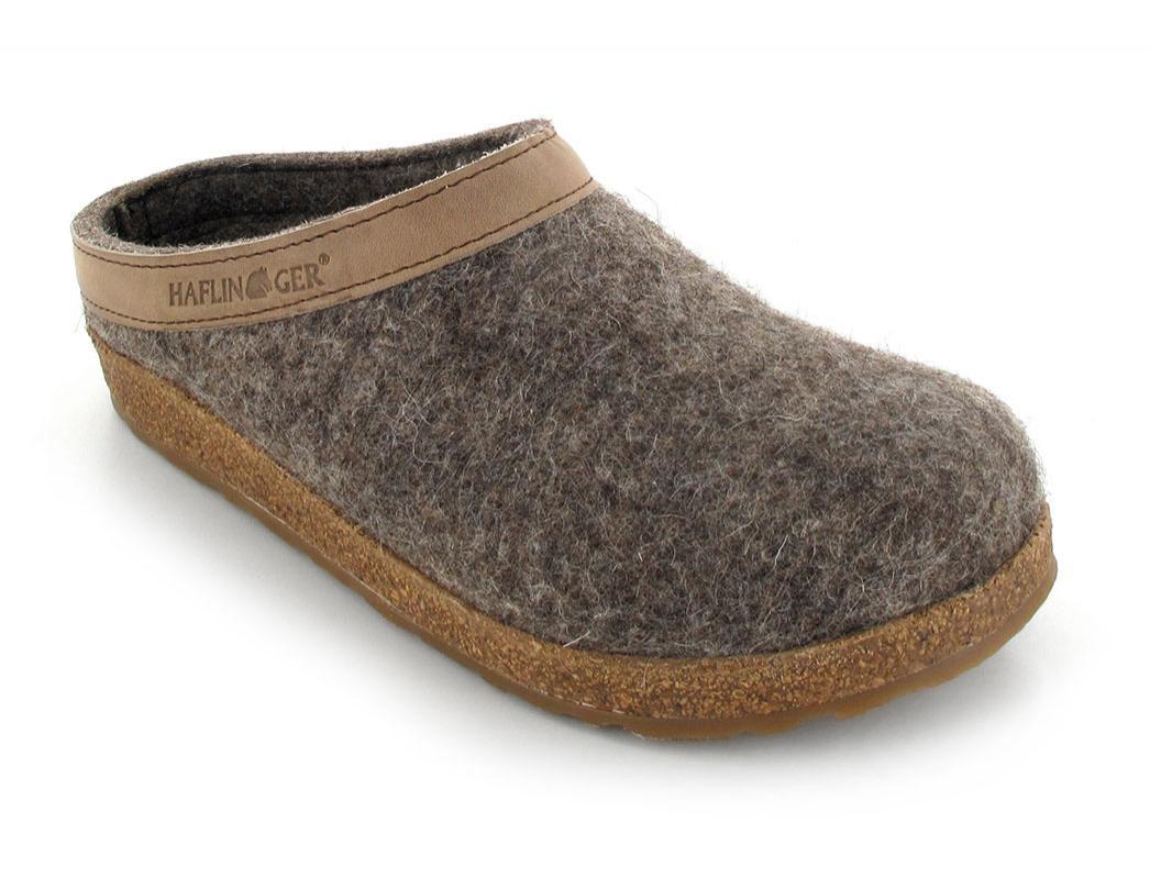 haflinger grizzly torben hausschuhe filzhausschuhe pantoffeln div farben ebay. Black Bedroom Furniture Sets. Home Design Ideas