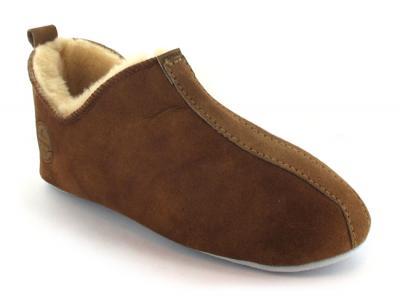 billig Shepherd Herren Echtes Lammfell Hausschuhe Socken