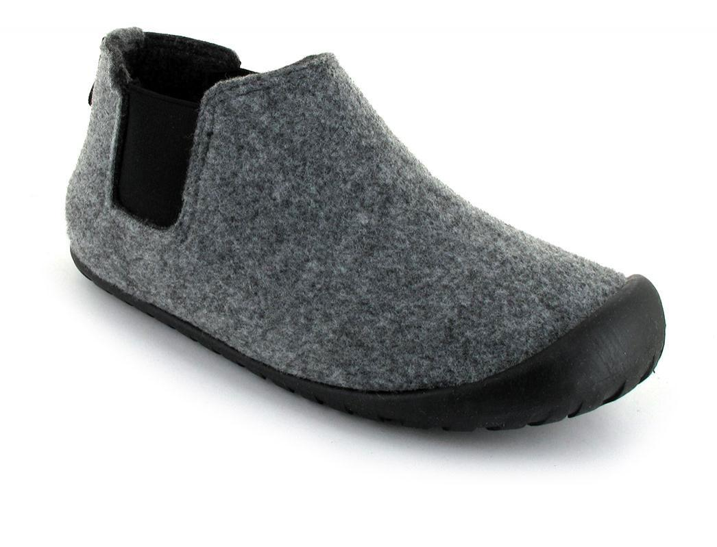 """GUMBIES Hausschuhe /""""Brumby/"""" Charcoal /& Red"""
